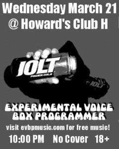 Live at Howard's Club H