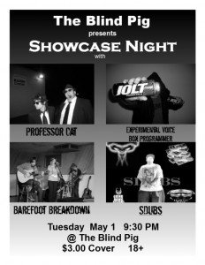 Blind Pig Showcase Night